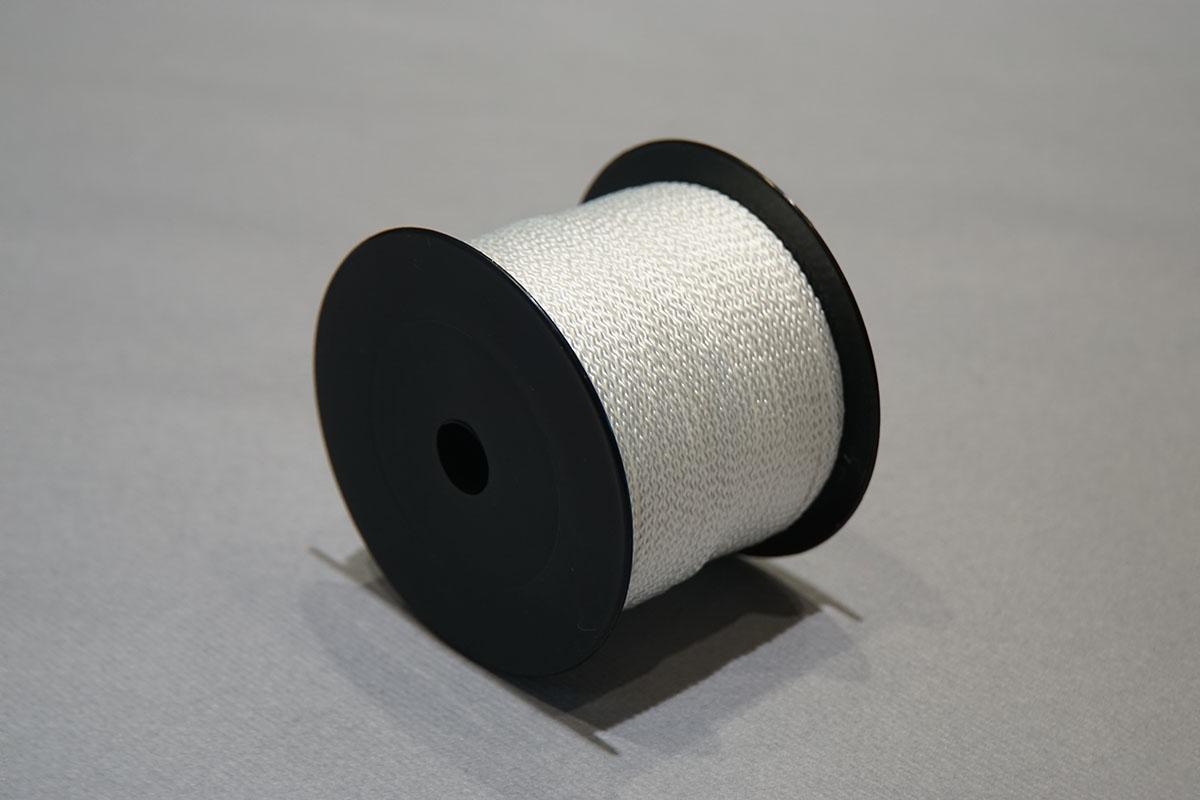 Nylon tressé ø2 mm. - bobines 210 gr.  blanc