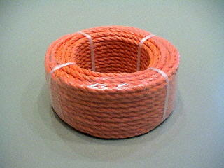 P.P. orange 6 mm. - rouleaux 30 M.