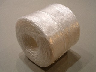 P.P. touw 1/600 - bobijnen 2 kg.