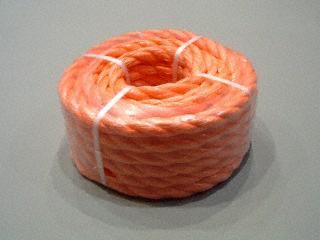 P.P. oranje 12 mm. - rollen 10 M.